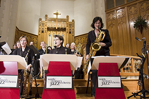 swojo at Seattle Jazz Vespers, photo by Jim Levitt